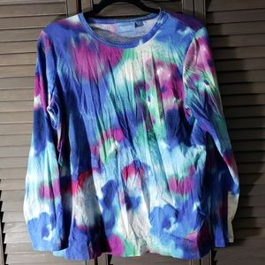 🌹4 for $20 - Pretty Watercolor Long Sleeve